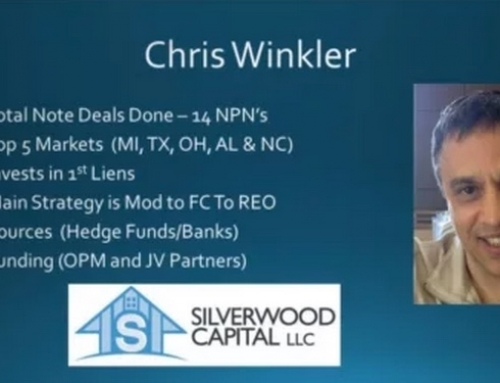 Note Closers Interview With Chris Winkler of Silverwood Capital